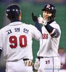 김태형 무한 신뢰, '3번 박건우'가 돌아왔다
