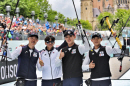 컴파운드 男 단체, 세계선수권 첫 금메달 쾌거