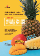 [SC 고객만족도 1위] 홍루이젠 대만 열대 과일 시리즈 샌드위치 출시