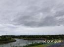 [중고골프대회]본선 첫 라운드 개시, 태풍 다나스 영향 강한 바람이 변수