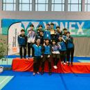 주니어배드민턴, 아시아선수권 혼합단체전 쾌조 스타트