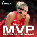WNBA 사상 첫 '50-40-90' 달성 델레 던, 정규리그 MVP