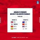 '또 만났네' 여자축구 도쿄올림픽 최종예선 북한과 같은조