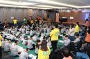 한화손보, 초등학생 대상 '안전골든벨' 행사 개최