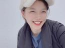 김유정, 새하얀 눈밭에서 '요정 미소'