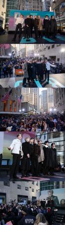 방탄소년단, 美 '투데이쇼→'MTV FRESH OUT' 출격…뉴욕 '점령'