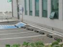 부산 녹산공단 2층 은행 건물 '쿵하는 소리와 함께 통째 기우뚱'