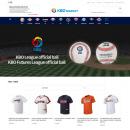 KBO 공식 상품 판매 플랫폼 'KBO 마켓' 영문 홈페이지 오픈
