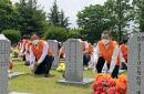 한화 충청지역 봉사단, 대전현충원 묘역 정화 등 봉사활동