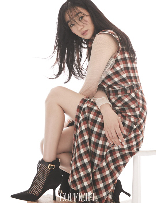 My favorite Korean actress Soo Ae. She was brilliant in the movie: The Sword With No Name