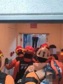 아파트 엘리베이터 갑자기 급상승…모녀 '공포의 2시간'