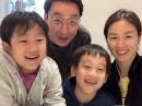 이휘재♥문정원 가족사진…'우월 유전자' 똑 닮은 붕어빵 가족