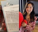 '♥전현무' 이혜성, 서울대생 꿈꾸는 팬 선물에 '감동' [in스타★]
