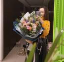 '김수미 며느리' 서효림, 으리으리한 꽃다발 선물