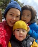 김나영, 子 '신우·이준' 데리고 주말 여행…세 가족만으로도 '행복 가득'
