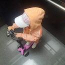 '주상욱♥' 차예련, 딸 인아 체력이 버거운 엄마