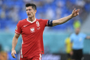 [유로2020]'클럽 세계 최고' 레반도프스키, 이번에도 국가대표 무대 아쉬움 남겨