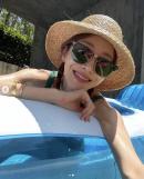 '엄태웅♥' 윤혜진, 으리으리한 단독주택 수영장..하와이 대저택 안부러워