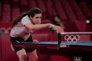 [도쿄올림픽] 도쿄 올림픽 최연소 출전자 12세 탁구신동, 여자탁구 단식 1회전 안타까운 패배