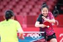 [도쿄올림픽]'신동' 신유빈, 1라운드서 첼시에 4대0 '완승'