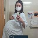 '104kg' 황신영, 세쌍둥이 출산 임박 결국 입원…
