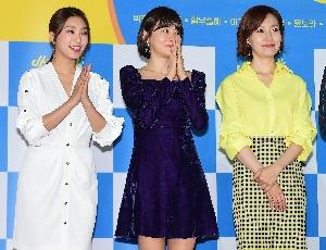 윤보라-황우슬혜-진경, 봄처럼 화사...