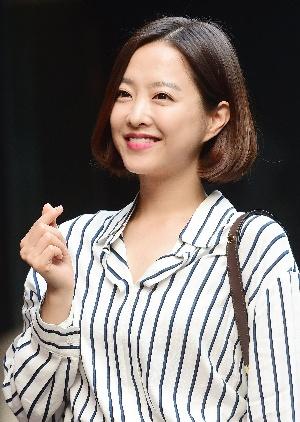 박보영, 깜찍 하트