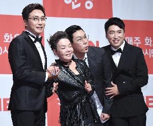 김수미, 걱정스러운 세 아들과 함께