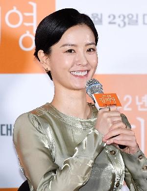 82년생 김지영 정유미, 환한 미소!