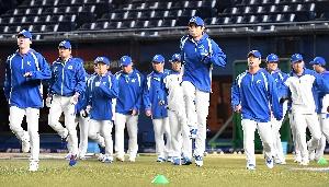 야구 대표팀, 목표는 우승!