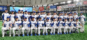 대한민국 야구대표팀, 도쿄돔 입성!
