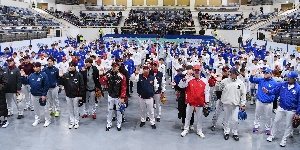 유소년 선수들과 만난 야구스타들