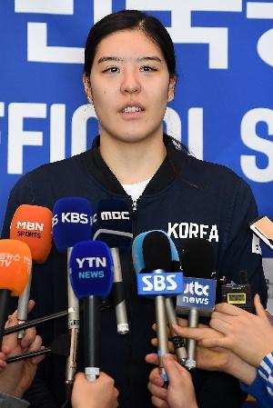 박지수, 올림픽 본선 준비 철저히 하겠다