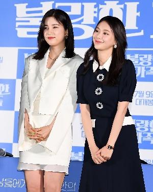 박초롱-김다예, 싱그러운 두 소녀
