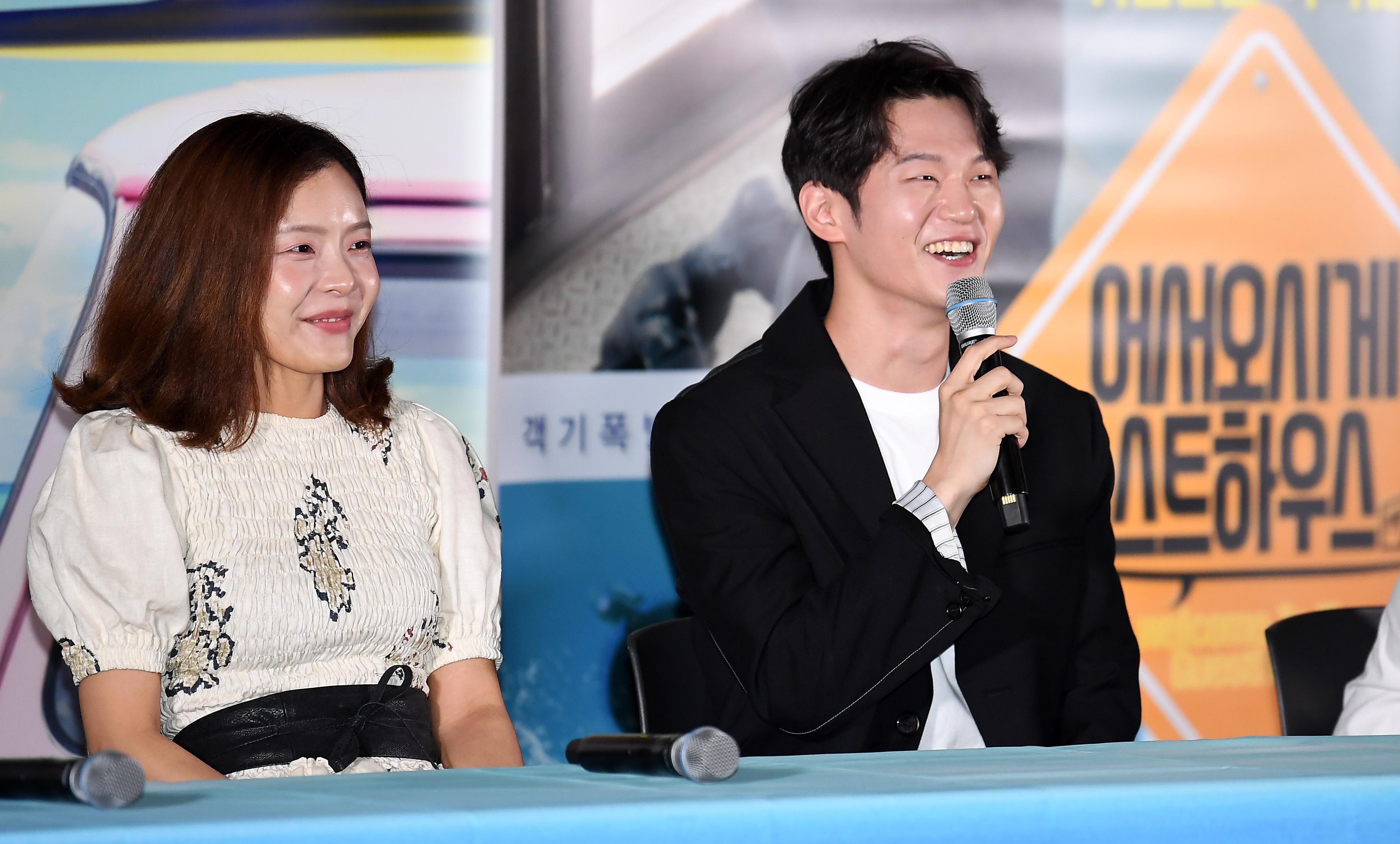 박선영-이학주, 해맑은 미소