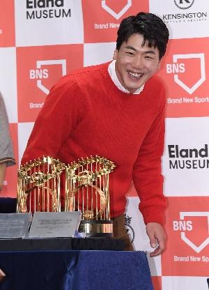 김광현, 밝은 미소로 인사드립니다