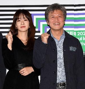 권해효-류현경, 서울독립영화제 파이팅!