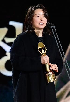홍의정, 신인감독상 수상