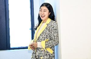 배우 라미란 유쾌한 미소