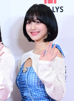 트와이스 지효, 단발머리 여신