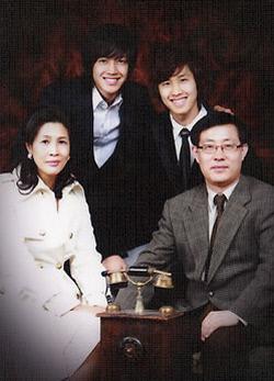 김현중 가족