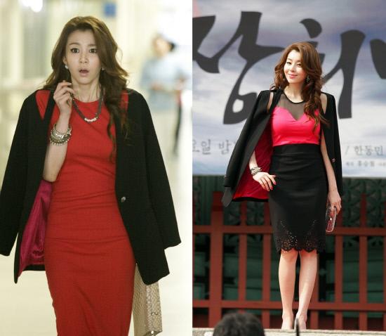 [tvN]인현왕후의 남자_박영린 섹시의상